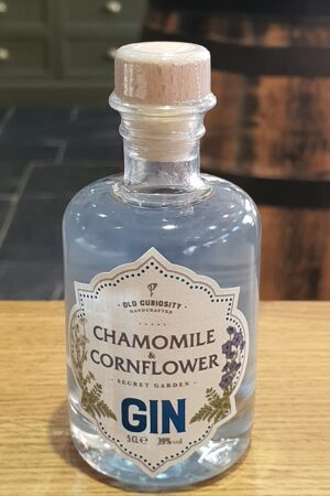 Old Curiosity Chamomile and Cornflower Gin 5cl