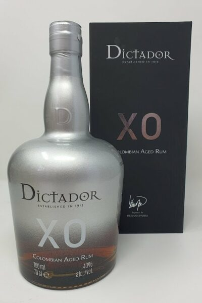 Dictador Silver Colombian aged rum 70cl