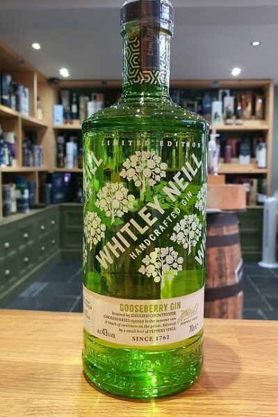 Whitley Neil Gooseberry Gin 70cl 43% - Limited Edition