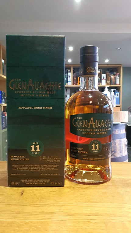 GlenAllachie Moscatel wood finish Aged 11 Years 70cl 48%