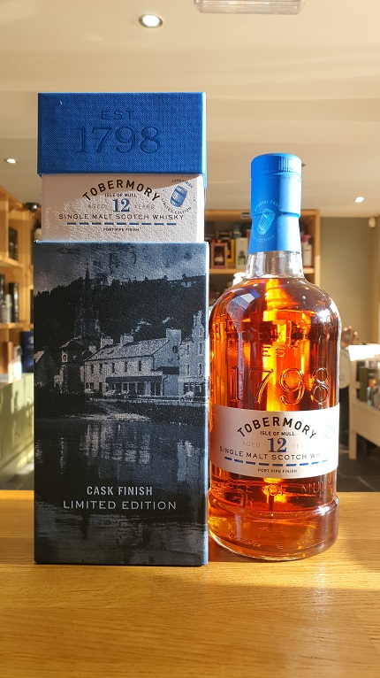 Tobermory 12 year old Port cask finish 70cl 58.6%