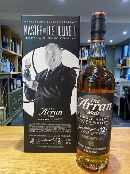 The Arran Master of Distilling II - The man with the golden glass 70cl 51.8%