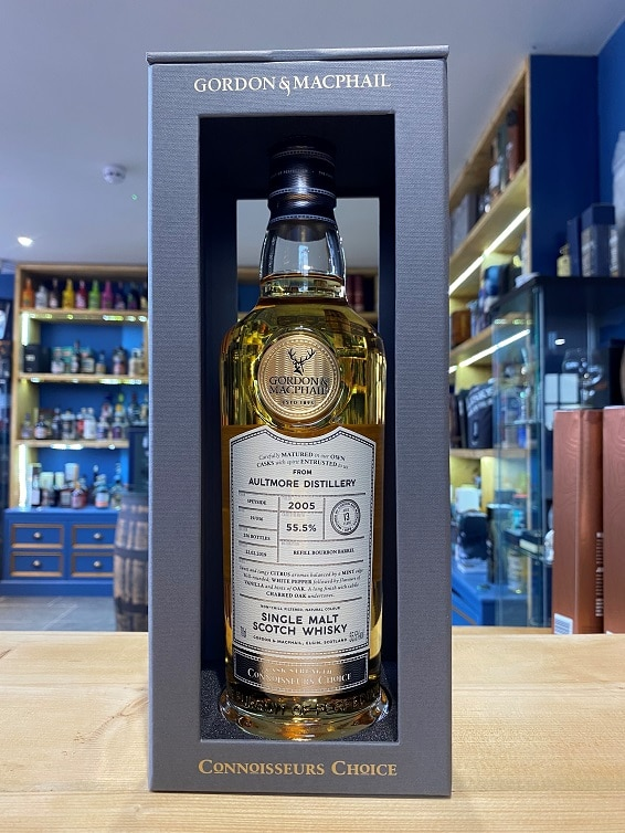 Gordon & MacPhail Connoisseurs Choice Aultmore Aged 13 Years 2005 55.5%