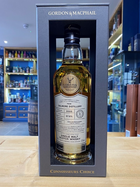 Gordon & MacPhail Connoissuers Choice Dalmore (UK Exclusive) Aged 14 Years 2005 57.6% 70cl