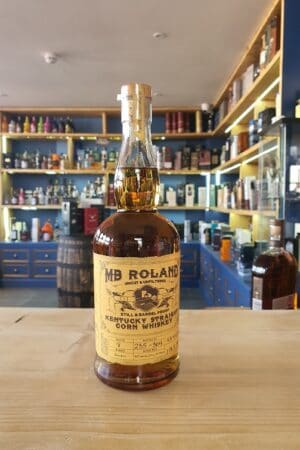 MB Roland Kentucky Straight Corn Whiskey 75cl