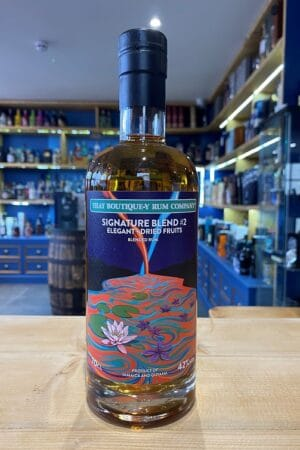 TBRC Signature Blend 2 Dried Fruits blended Rum