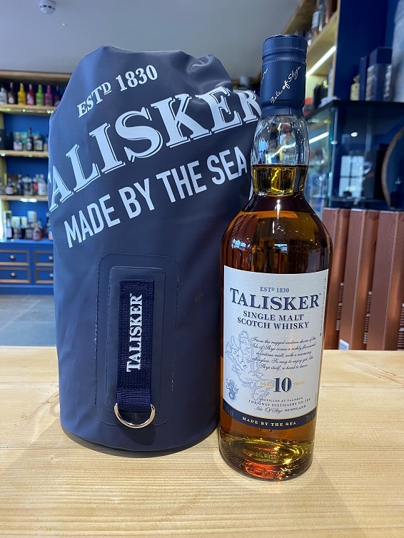 Talisker 10 Year Old with Dry Bag 70cl