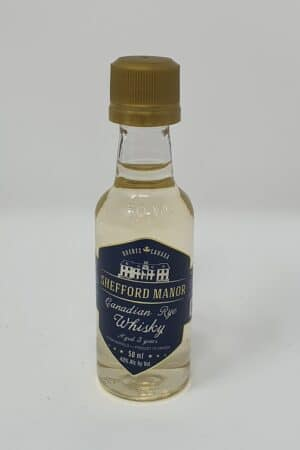 Shefford Manor Canadian Rye 5cl Whisky