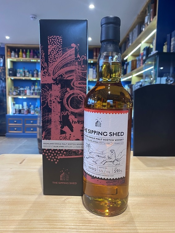 Sipping Shed Blair Athol cask 301012