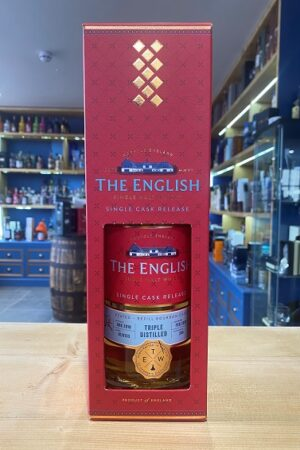 The English Red Range Peated Triple Distilled whisky