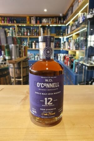 W. D. O CONNELL 12 YEAR OLD SHERRYCASK STRENGTH