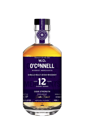 wd oconnell 12 year old all sherry cask strengt