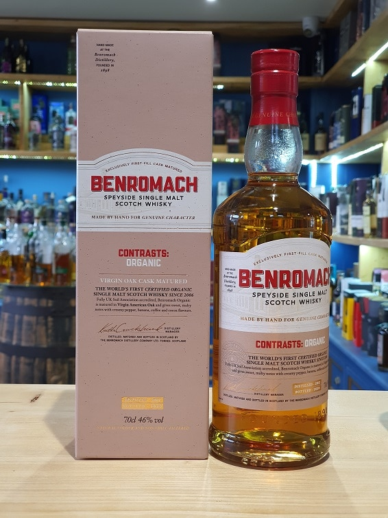 Benromach Contrasts Organic 70cl 46%