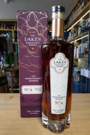 The lakes whisky makers reserve 4