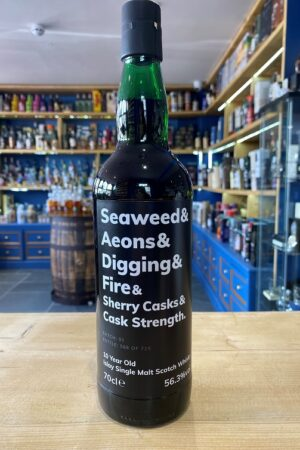 seaweed sherry cask cask strength whisky