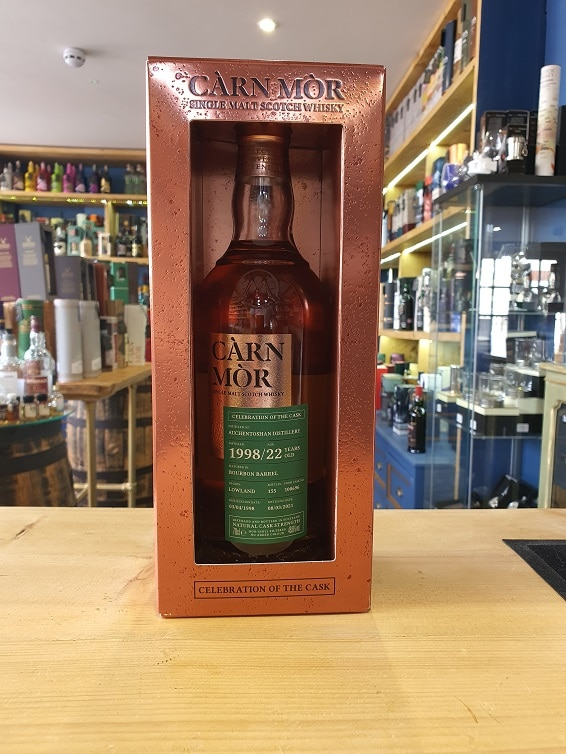 Carn Mor - Celebration of the Cask, Auchentoshan 22 Year Old 1998 (Cask 100696) 48.6% 70cl
