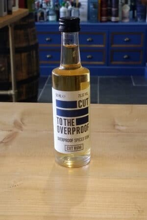 Cut to the Overproof Spiced Rum 5cl 75.5%