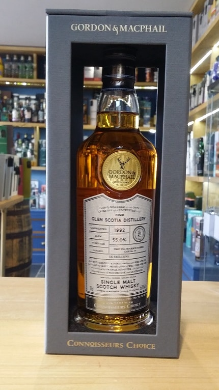 Gordon and MacPhail Connoisseurs Choice 1992 from Glen Scotia Distillery 28 Year Old 55.0% 70cl
