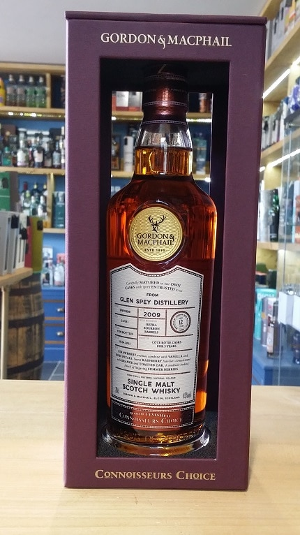 Gordon and MacPhail Connoisseurs Choice 2009 Glen Spey Distillery 12 Year Old 70cl 45%