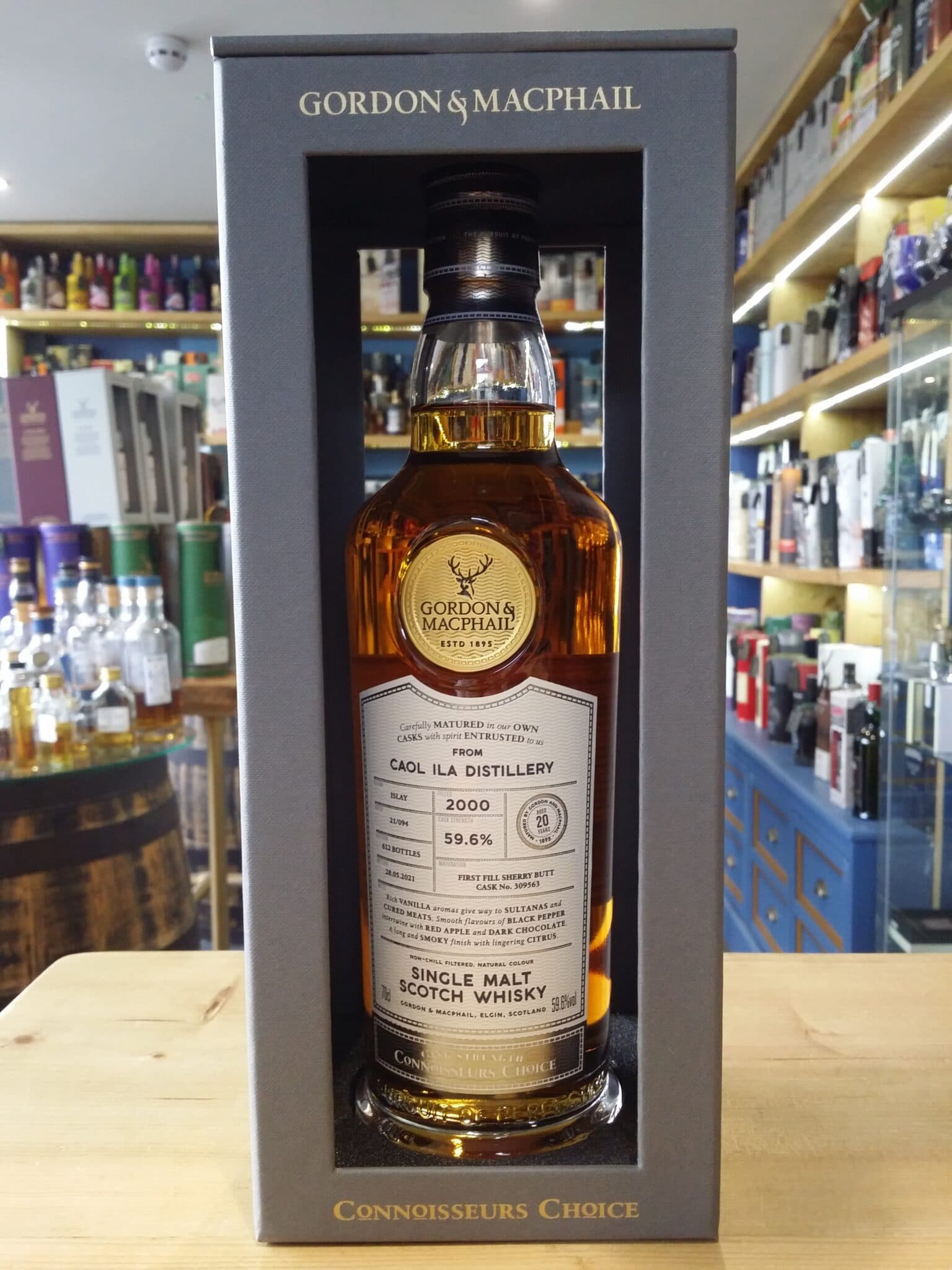 Gordon and MacPhail Connoisseurs Choice Linkwood 1994 Aged 26 Years 52.2% 70cl