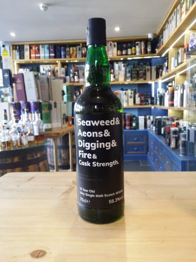 Seaweed & Aeons & Digging & Fire & Cask Strength Batch 4 10 Year Old 70cl