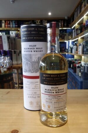 Islay blended scotch Berry bros 44.2% 70cl