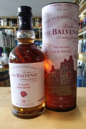 The Balvenie 21 Year Old The Second Red Rose 70cl